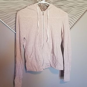 Aeropostale size large zip up hooded sweatshirt
